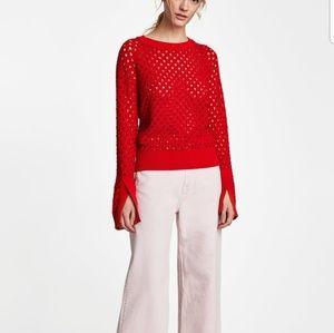 Zara Openwork Sweater